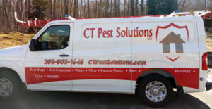 CT Pest Solutions Van